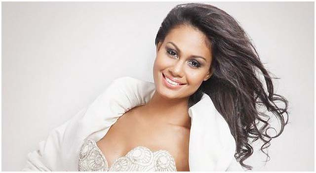 Venus Raj, one of the famous beauty queens is a Bicolana. Photo credits: www.missosology.com