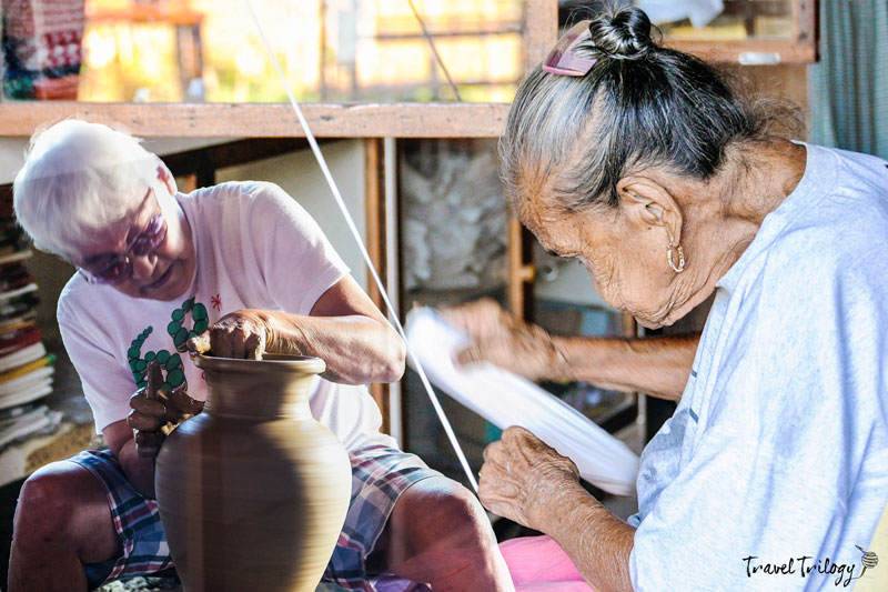 Traditional Ilocano Handicrafts Weaving Pottery Travel Trilogy