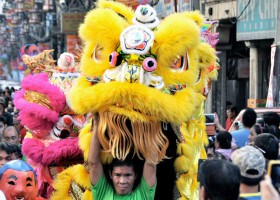 Chinese New Year Celebration in Binondo
