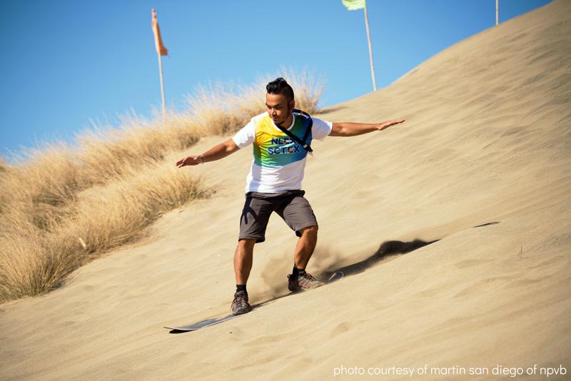 sand boarding ilocos