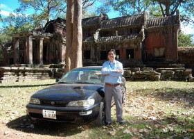 Car Rental / Driver Services in Siem Reap, Cambodia