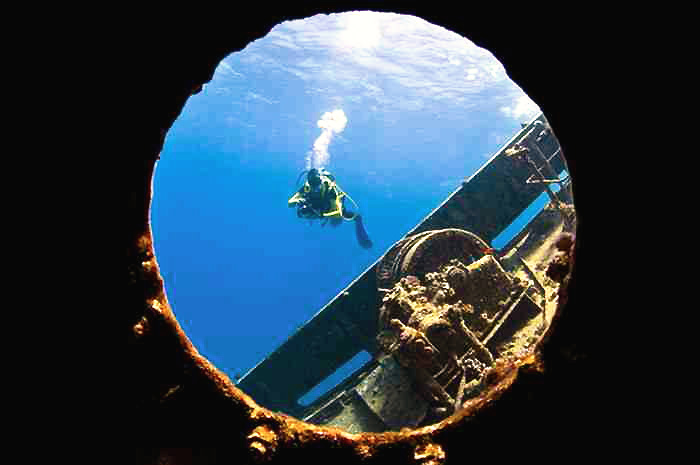 History, underwater. Photo credits: www.gopalawan.travel