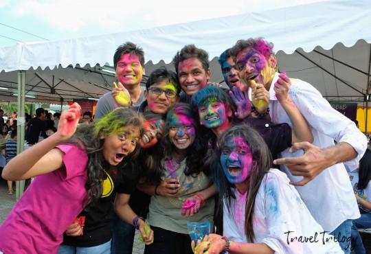 Holi Festival 2015 Manila | Coloring Namaste & Mabuhay