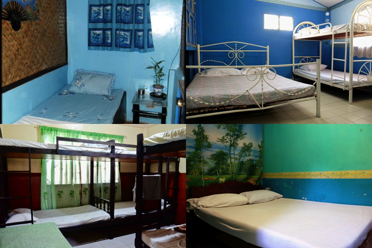Room choices at OMG are  kept simple to maintain the price.