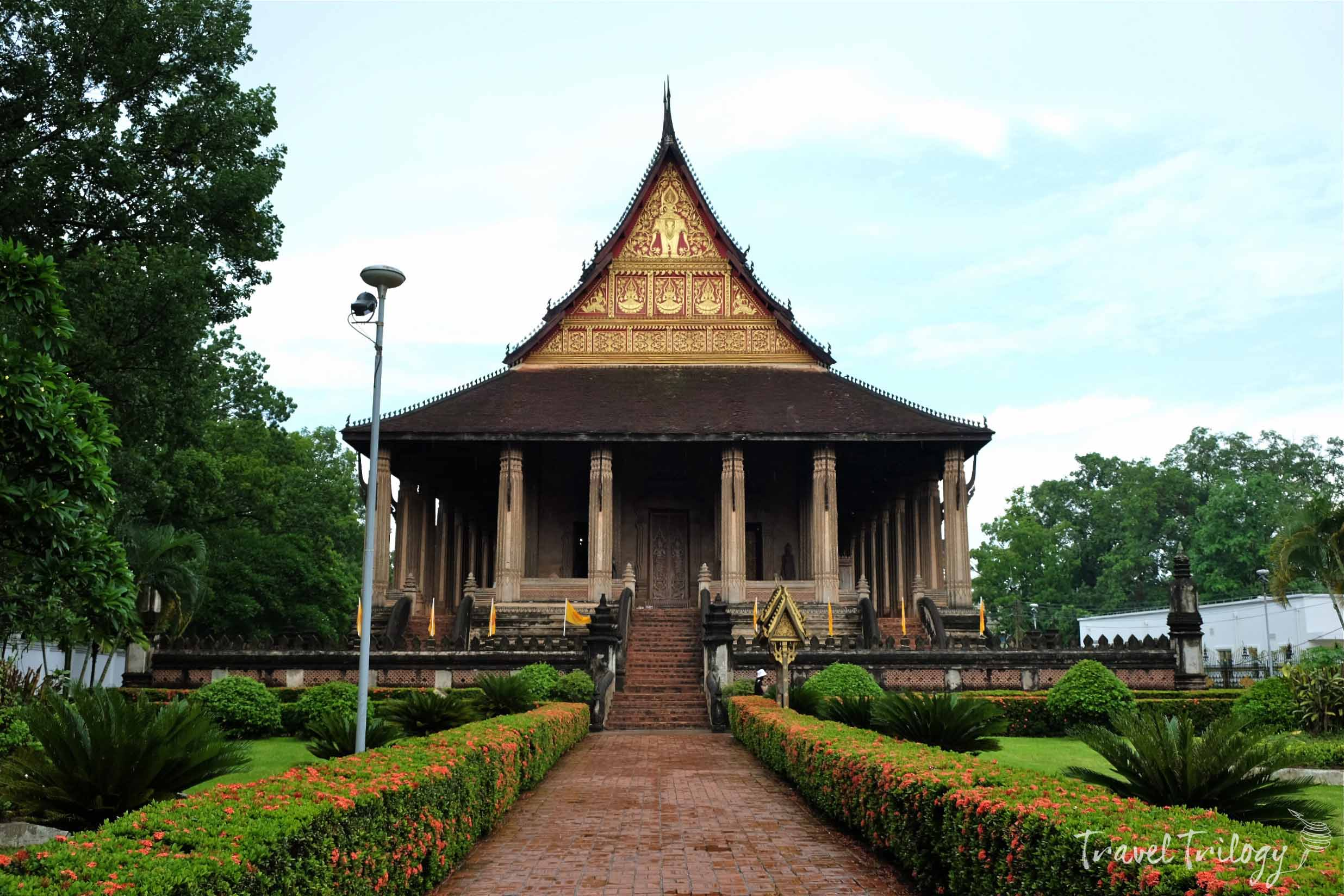 Wat Ho Phra Keo. 1565. The shrine of the emerald Buddha.