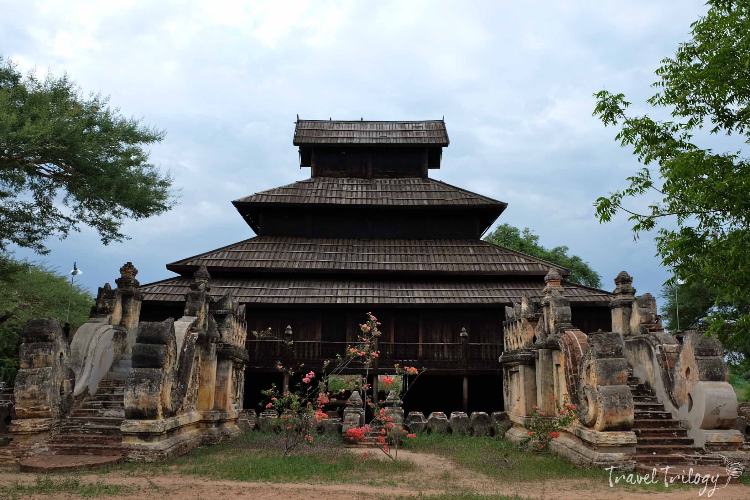 This teakwood monastery has been serving the Burmese spiritual formations.