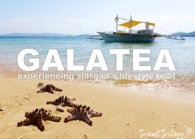 Galatea | Siargao Island's Lifestyle Boat