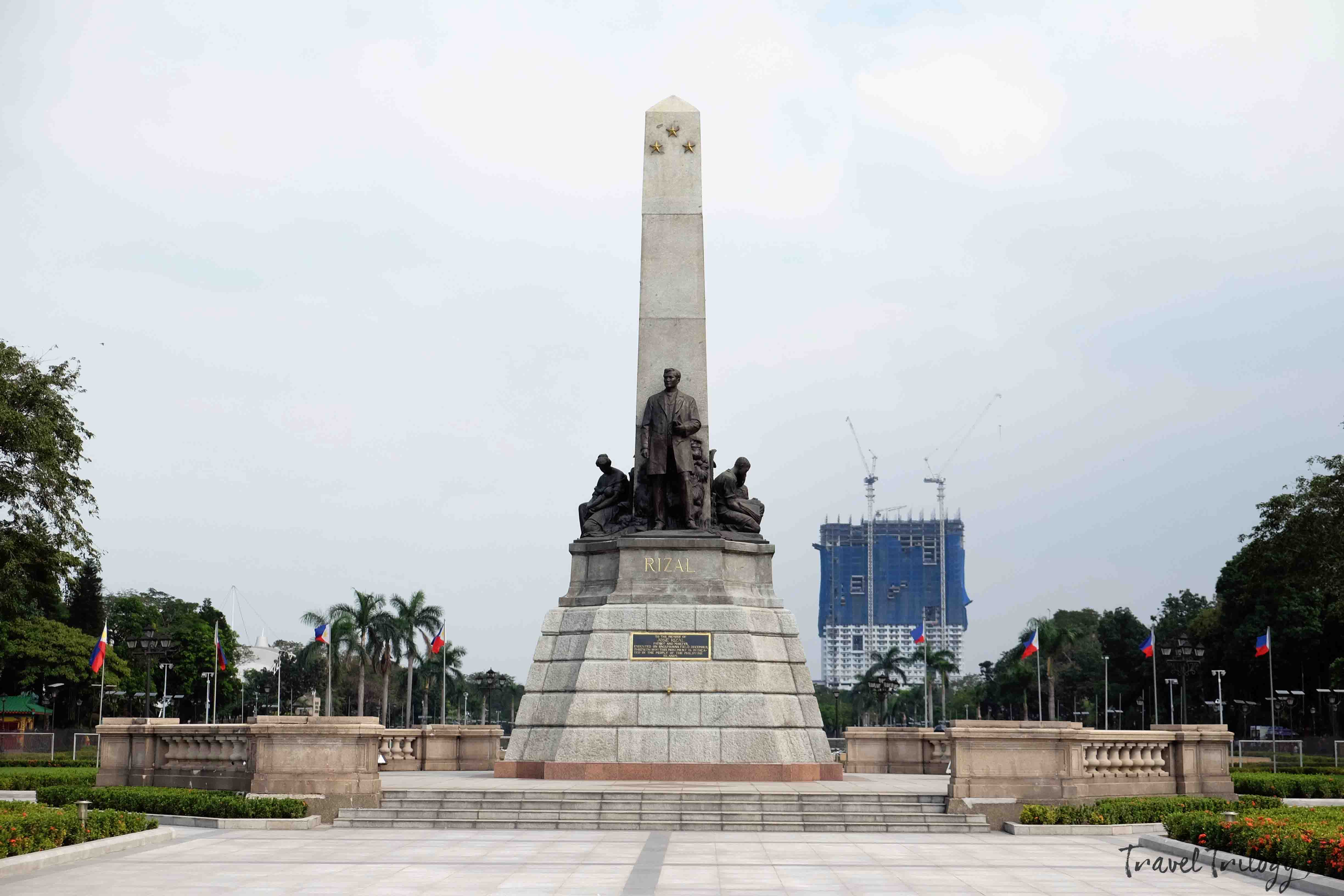 manila rizal park dangerous places in the philippines