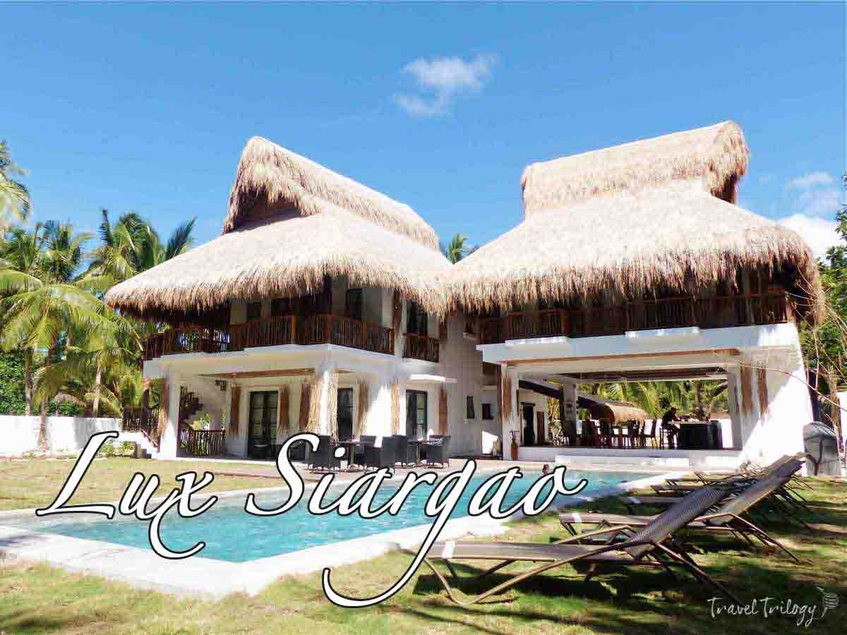 Lux siargao boutique resort travel trilogy for Boutique resort