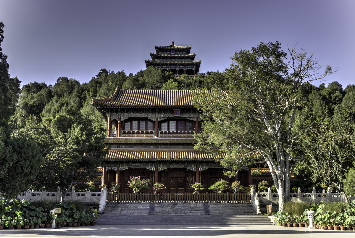 Jingshan Park gives a good aerial view of the Forbidden Palace. Photo credits: www.everthewanderer.com