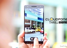 Cloudfone Thrill 600 FHD | My New Travel Buddy