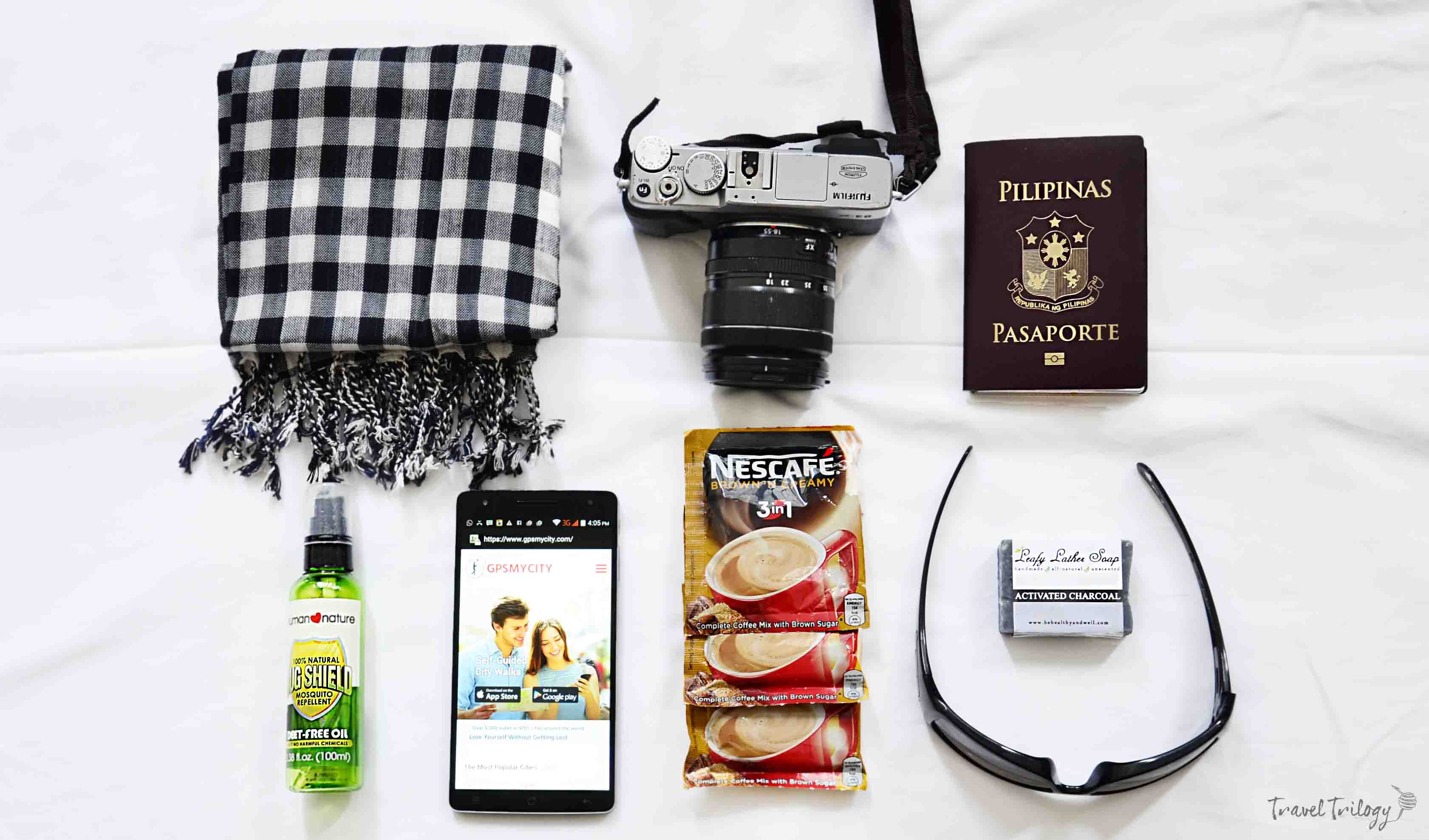 things i cannot travel without