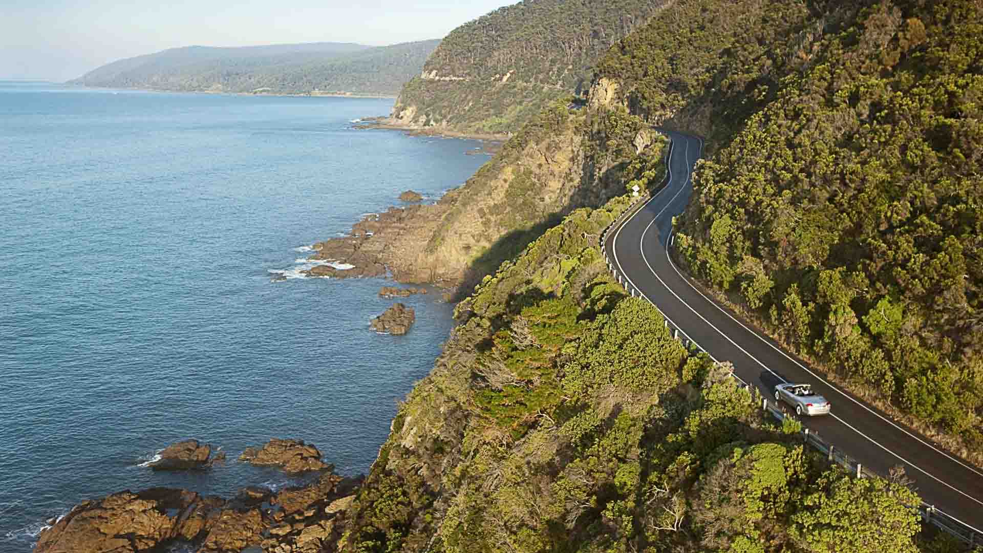 The Great Road in Australia. Photo credits: www.australia.com