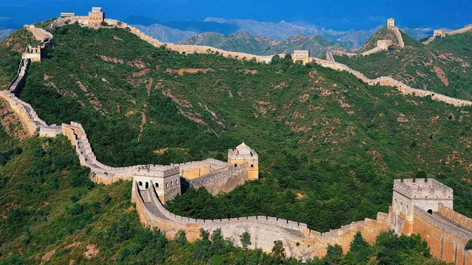 The Great Wall of China. Photo credits: www.foundtheworld.com
