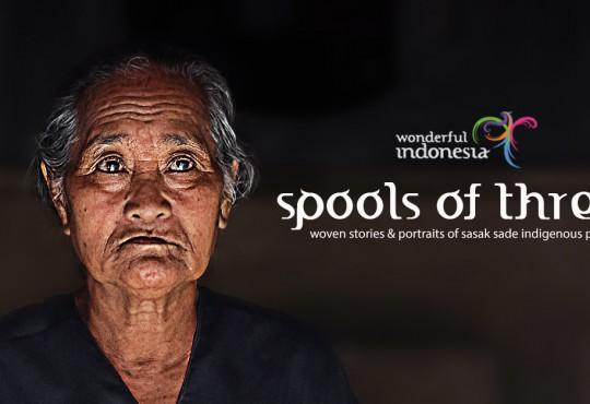 Sasak Sade | Life in Spools of Thread