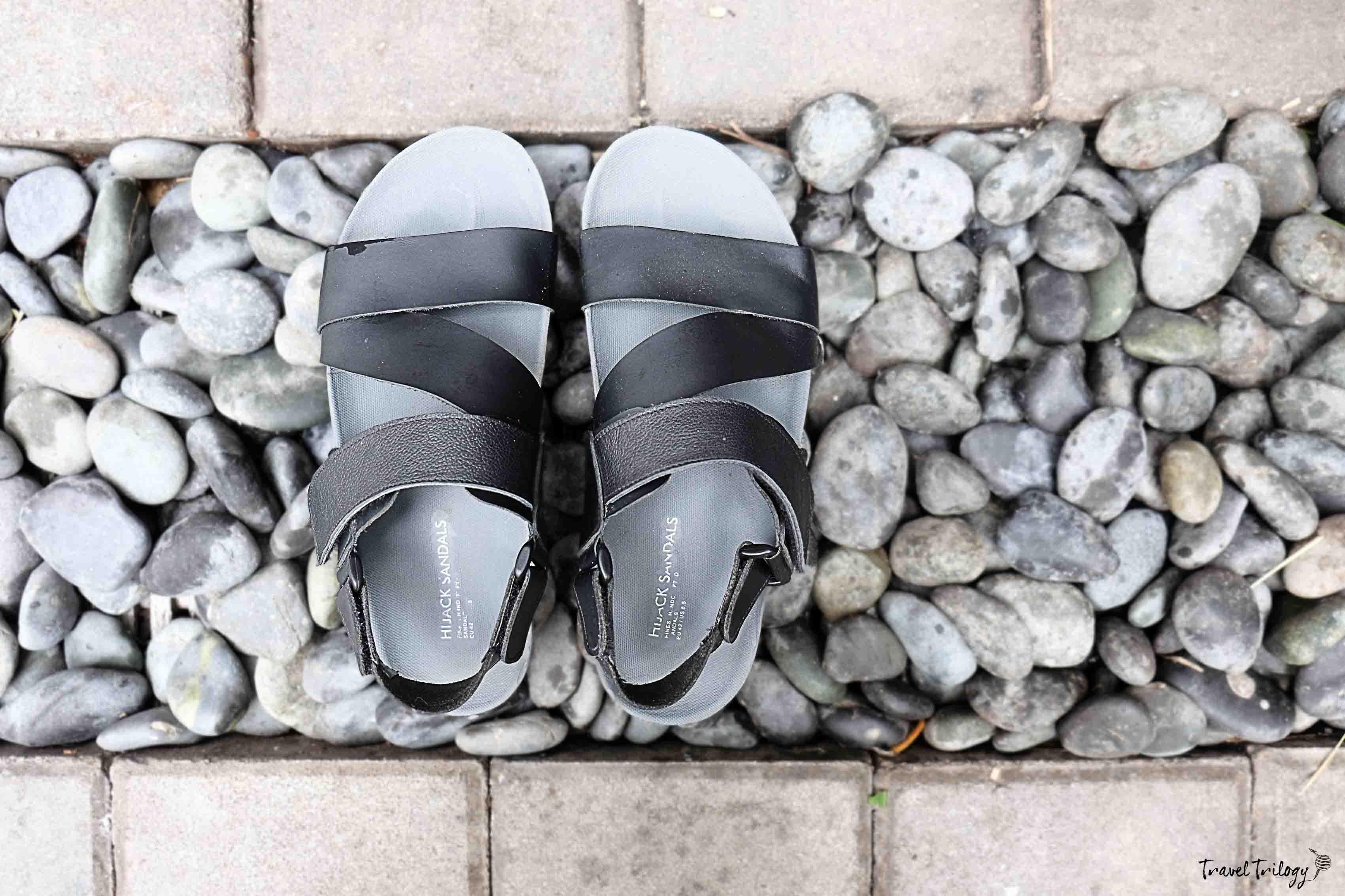 hijack sandals