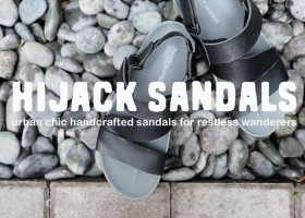 Hijack Sandals | Urban Chic Sandals for Travelers