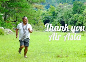 Thank You Air Asia | Filling the AIR with Gratitude