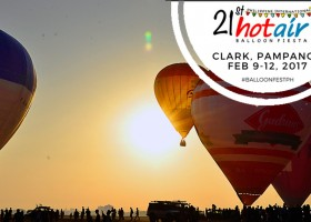 Philippine Hot Air Balloon Fiesta | Clark, Pampanga