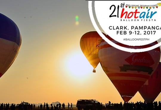 Philippine Hot Air Balloon Fiesta | Clark, Pampanga