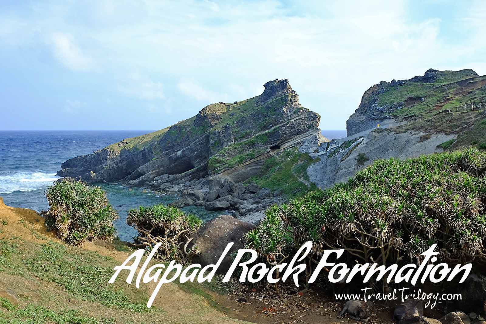 alapad rock formation batanes
