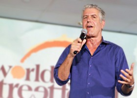 Anthony Bourdain comes to Manila for World Streetfood Congress 2017