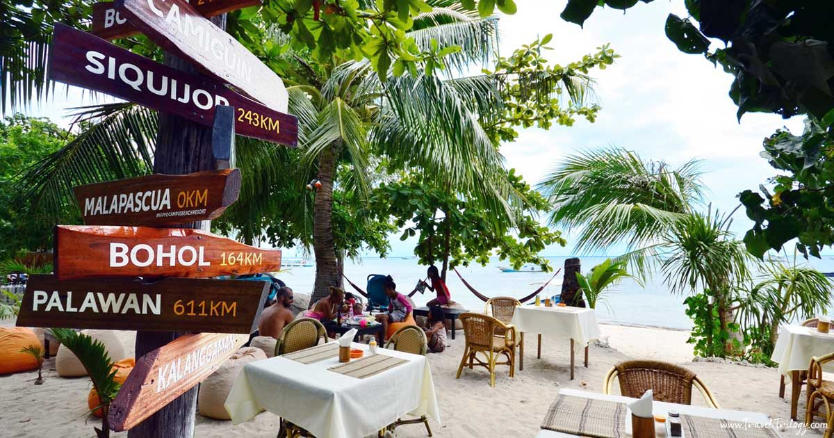 hippocampus beach resort malapascua