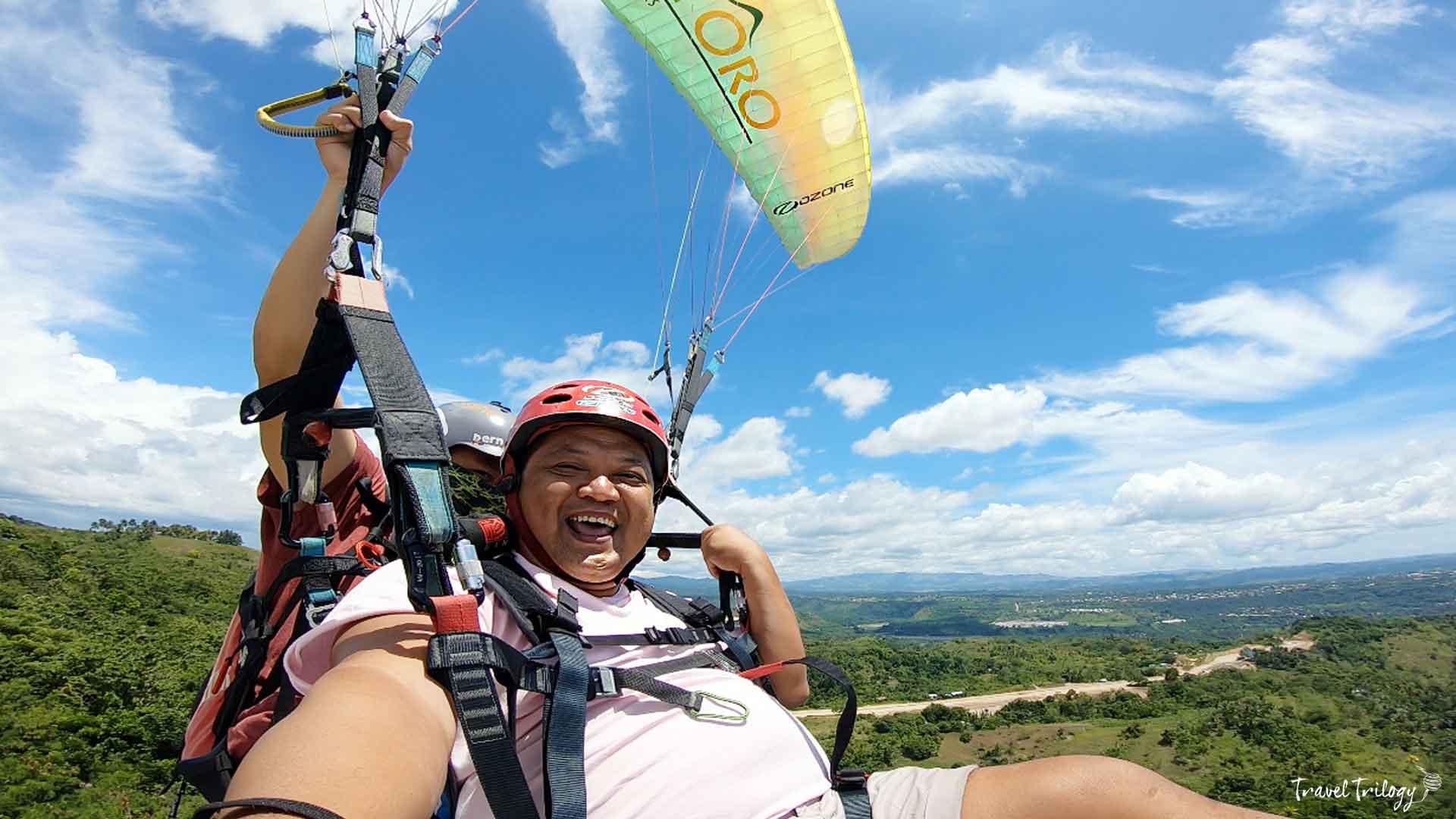paragliding in cagayan de oro