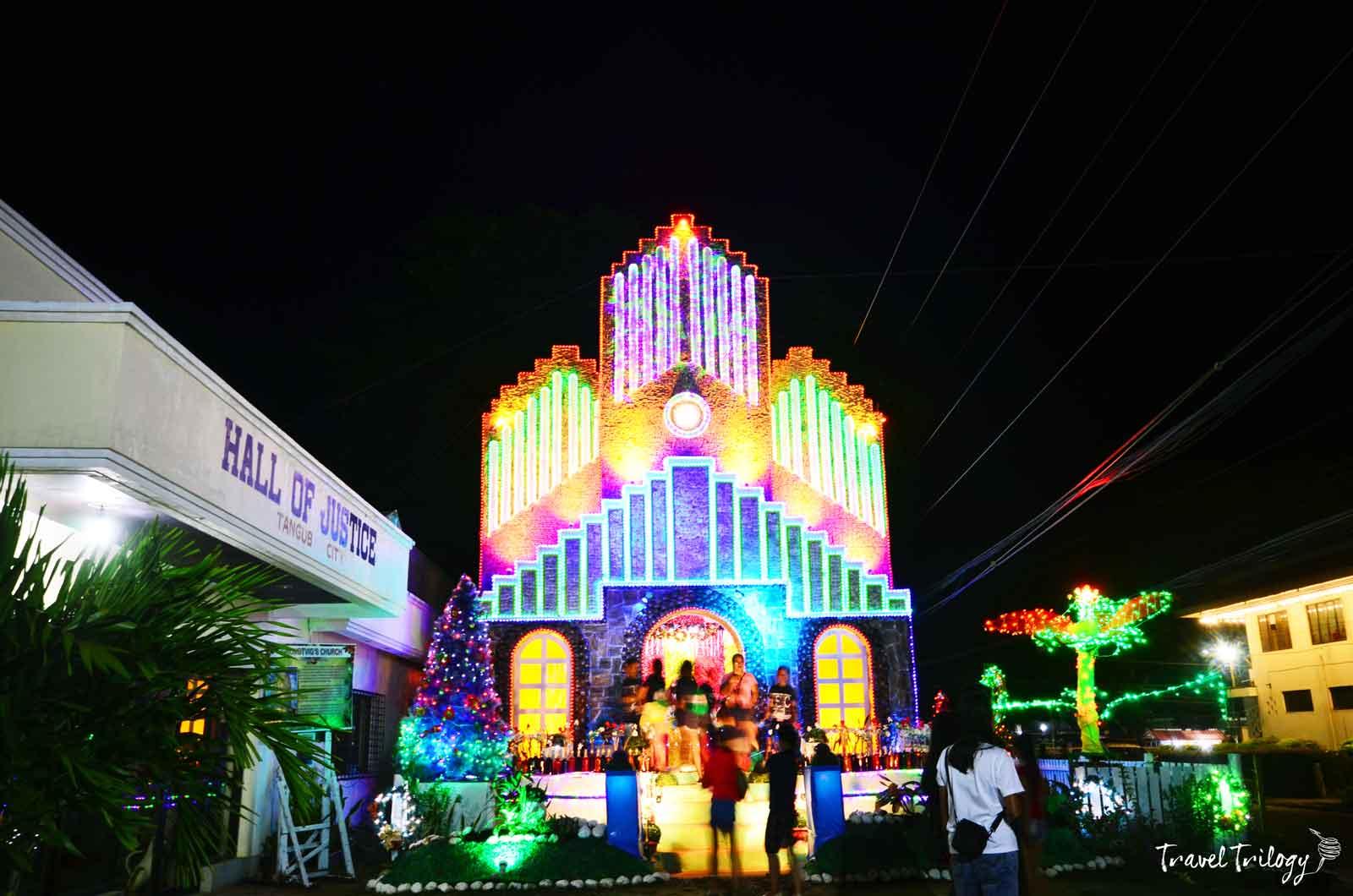 tangub christmas symbols festival