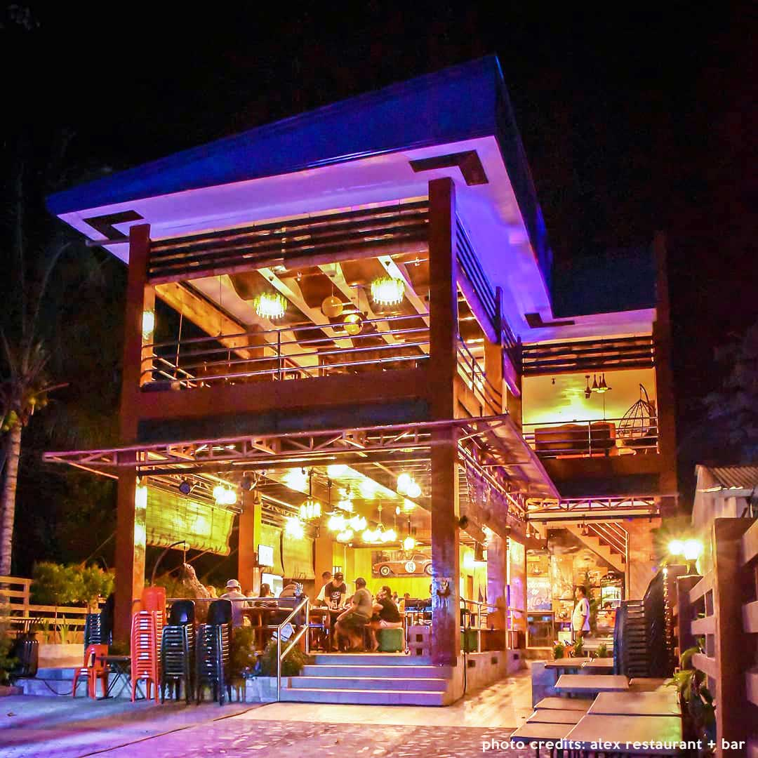 places to eat in camiguin Alex