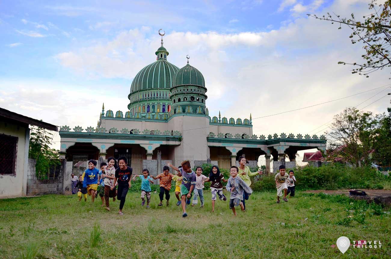malaig mosque blinding